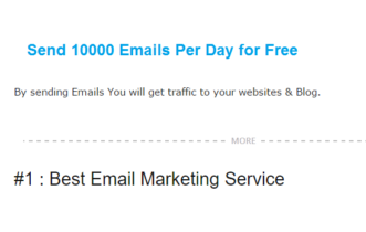 Free Email & SMTP Services to Send 1000's Of Emails Daily
