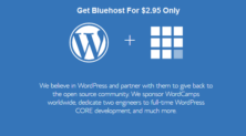 Bluehost Hosting Special Discount Sale For $2.95