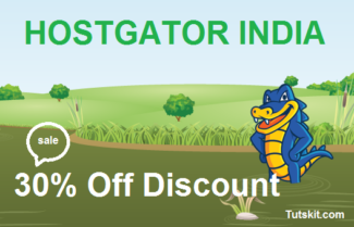 Hostgator.in discount coupon For India 30% off