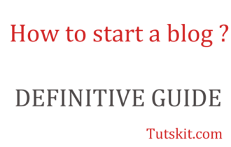 HOW TO START A WORDPRESS BLOG: DEFINITIVE GUIDE