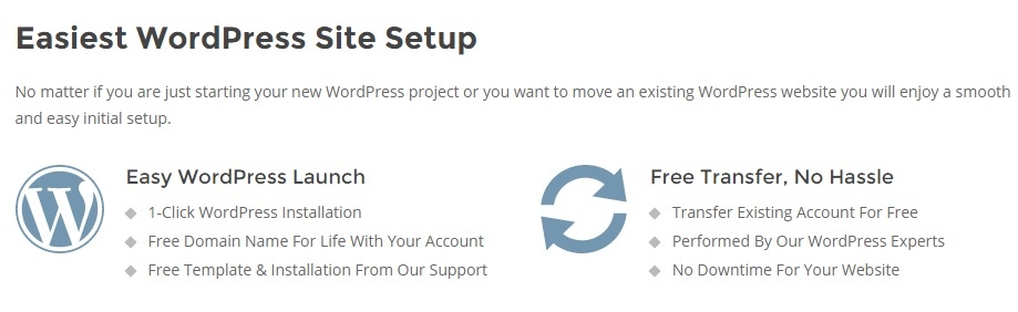 Start a WordPress Blog & Get Hosted in Minutes ?